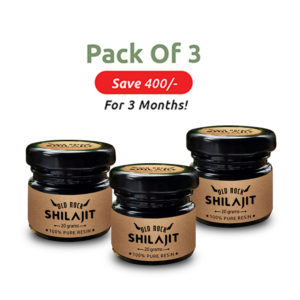 Shilajit combo of 3